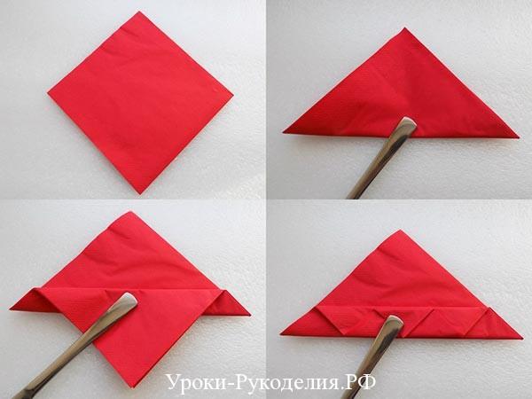 делается роза из бумаги