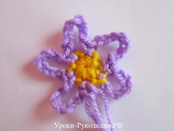 цветок мини