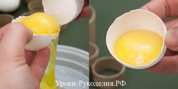 белок от желтка