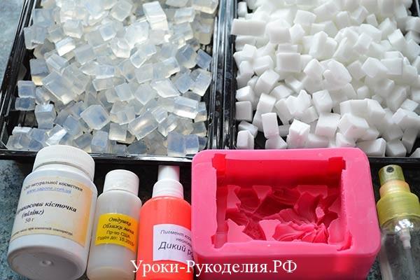 состав для мыла