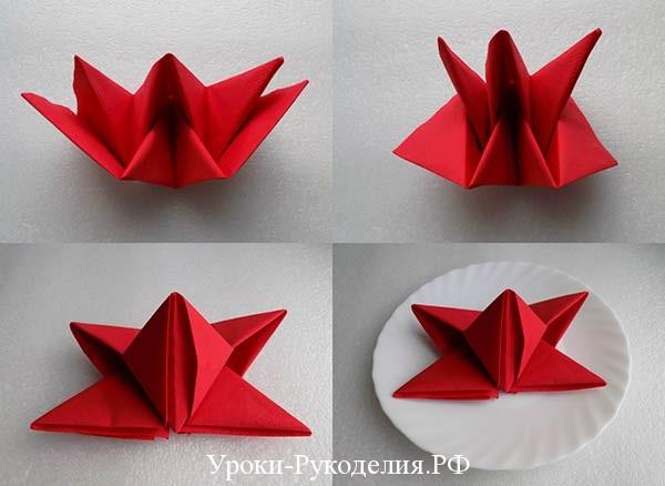 украшение цветок из бумаги