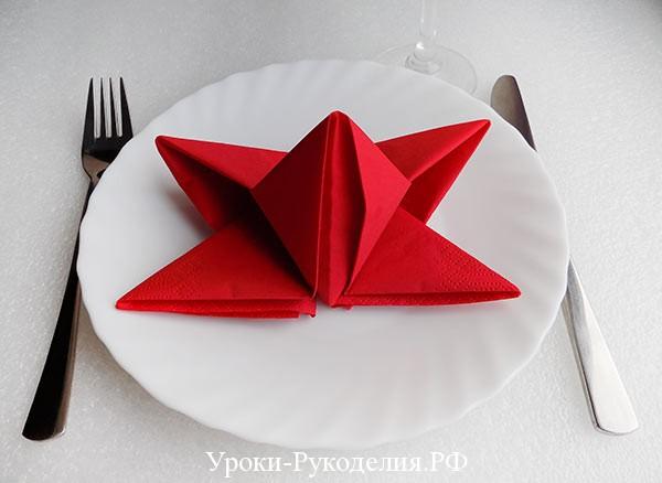 красивая салфетка на стол