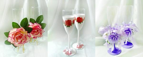 Свадебные бокалы. Что нужно знать жениху и невесте