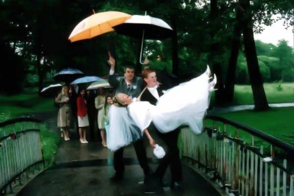 веселые приметы на свадьбу