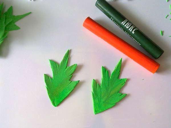 тонировка листьев фома