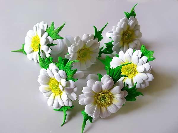 цветы на резинках