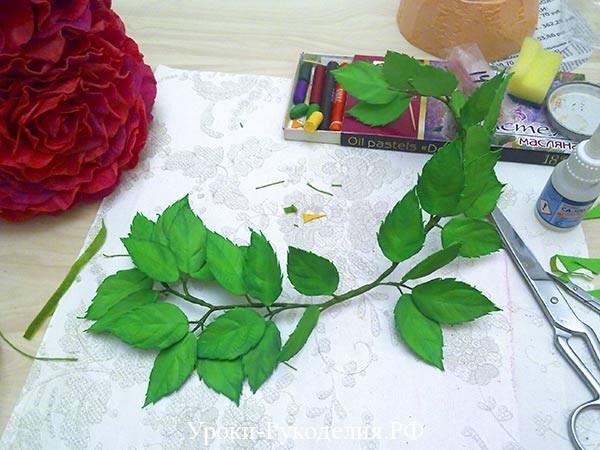 веточка для розы