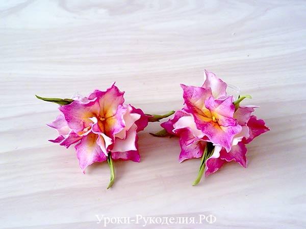 из фоамирана цветы