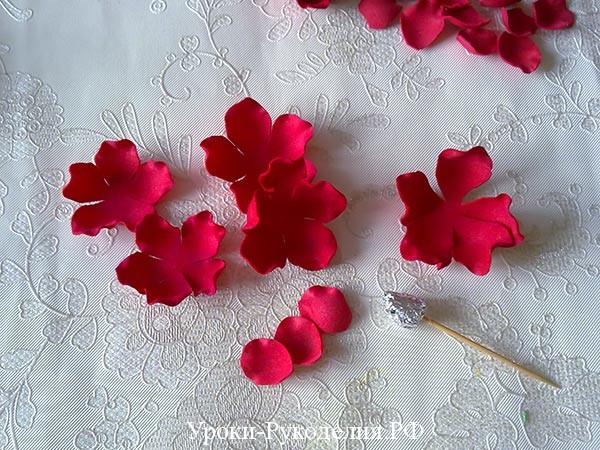 собирать розу