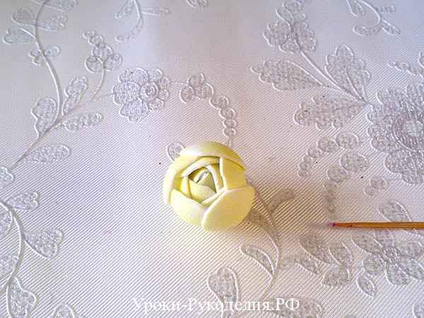 фоамиран бутон