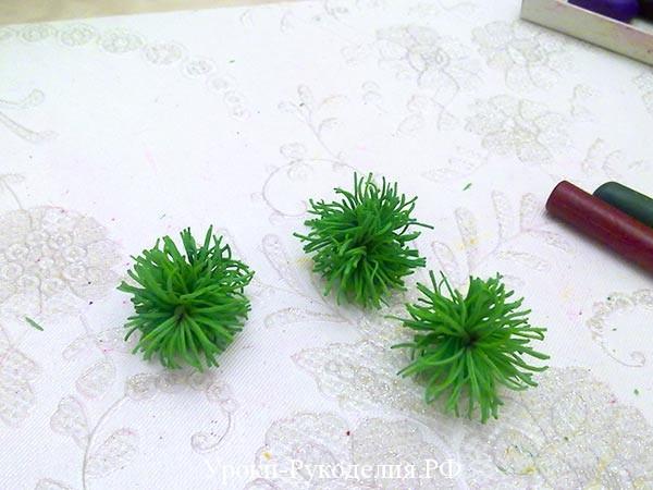 ветки елки своими руками