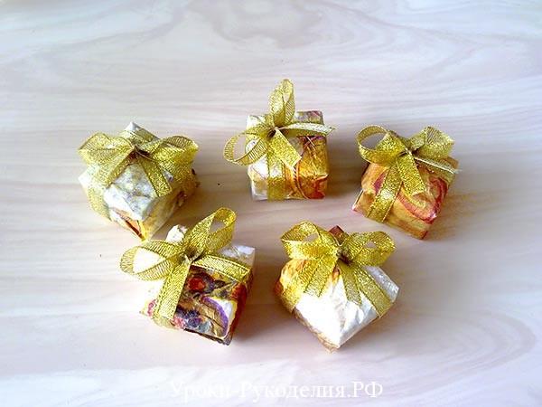 коробочки подарки
