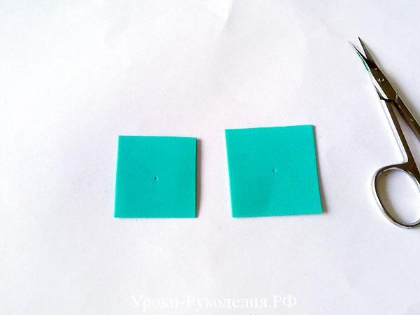квадраты из фома