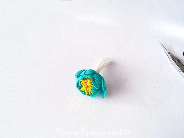 цветок морского цвета