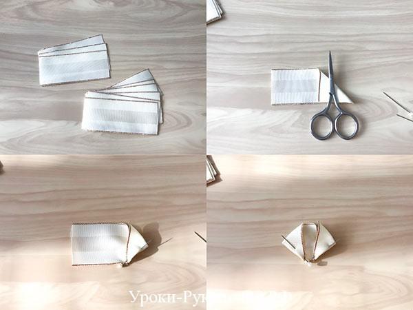 лежащие ленты на столе