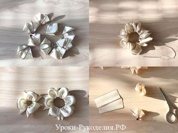цветок из трех ярусов