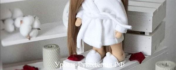 Одежда для кукол — как сшить тапочки