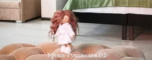 Мастер-класс: шьём халатик для куклы