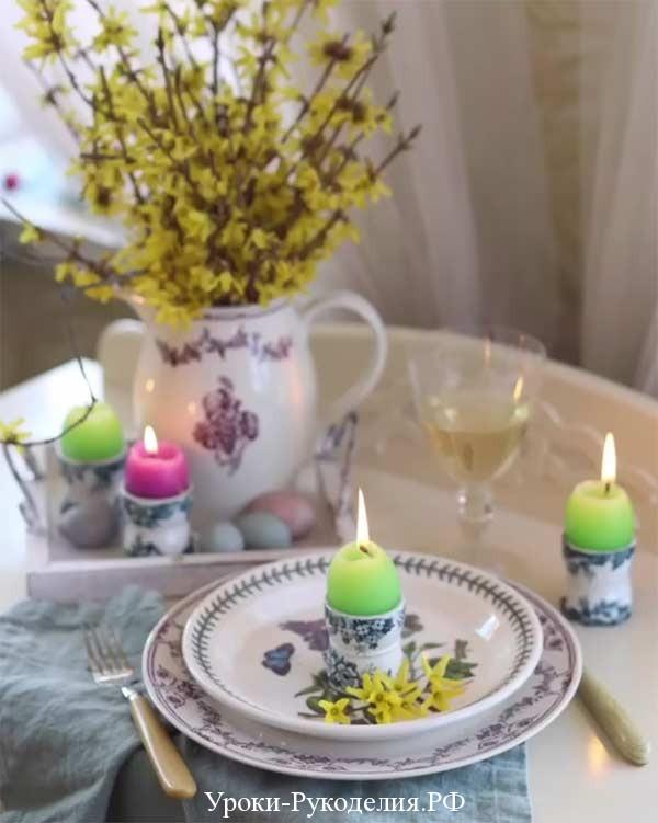 Свечи от Юлии Фир.