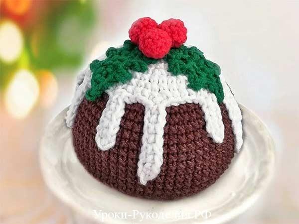 торт вязаный