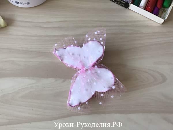 бабочки с фатином