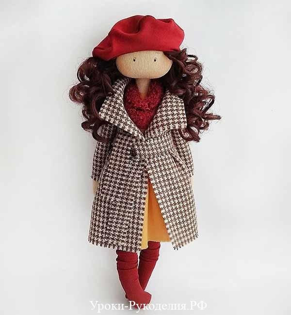 берет для куклы