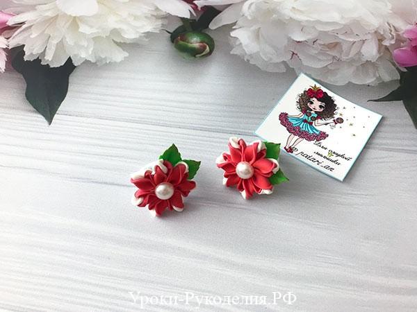 маленькие цветы своими руками